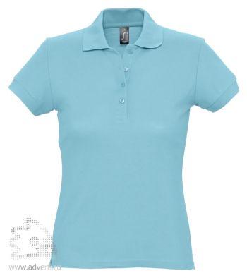 Рубашка поло «Passion 170», женская, бирюзовая