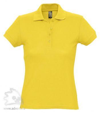Рубашка поло «Passion 170», женская, желтая