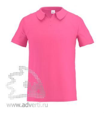 Рубашка поло «Stan Primier», мужская, светло-розовая