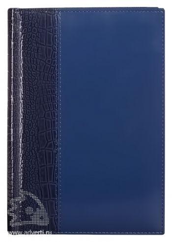 Ежедневник «Luxe Reptail», синий