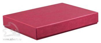 Коробка для 1 ежедневника, бордовый