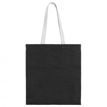 Cумка для покупок «Juhu», чёрная, вид спереди