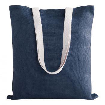 Cумка для покупок «Juhu», синяя, пример с наполнением