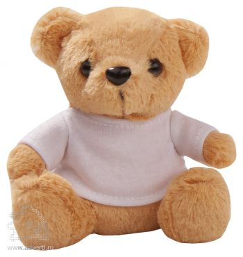 Игрушка «Медвежонок Умка в футболке», бежевый