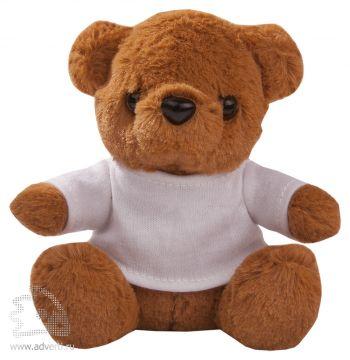 Игрушка «Медвежонок Умка в футболке», коричневый