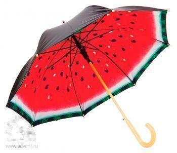 Зонт «Арбуз», полуавтомат