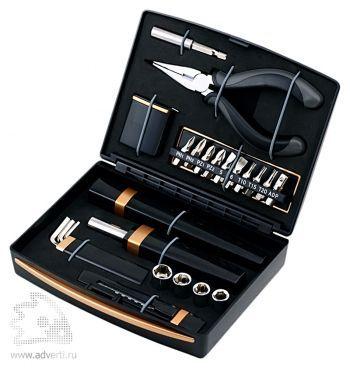 Набор инструментов «Голиаф», черный