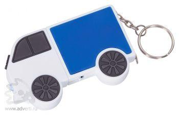 Брелок-рулетка «Фургон», синий