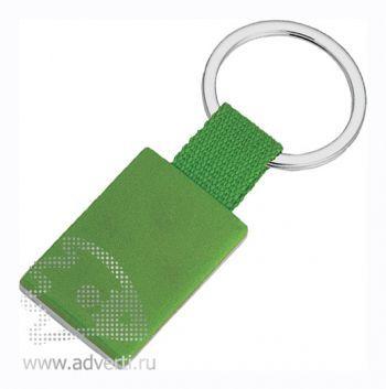 Брелок «Прямоугольник», зеленый