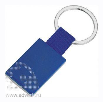 Брелок «Прямоугольник», синий