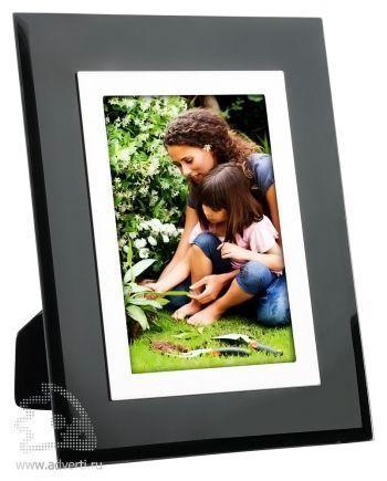 Рамка для фотографии 10х15 см, черная