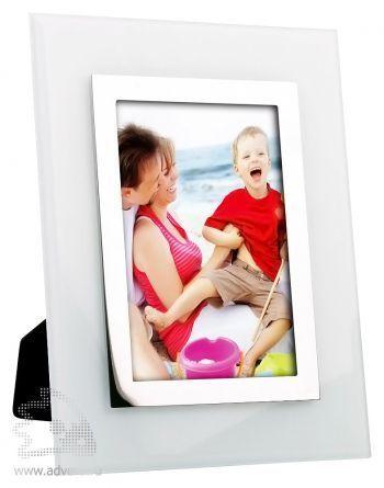 Рамка для фотографии 10х15 см, белая