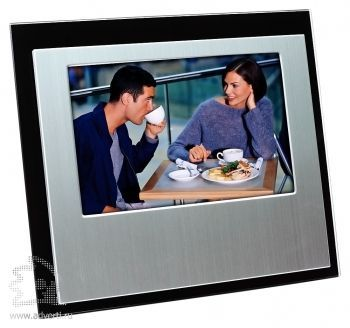 Горизонтальная рамка для фотографии 10х15 см, черная