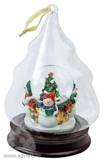 Новогоднее украшение «Вот и выпал первый снег!»