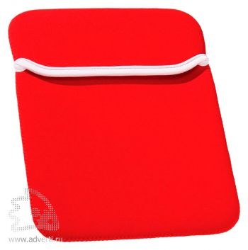 Яркий чехол для iPad, красный