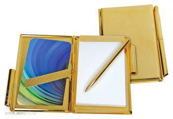 Визитница «Gold», внутренний дизайн