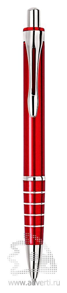 Шариковая ручка из набора «Райт», красная