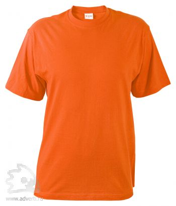 Футболка «T-Bolka 140», унисекс, оранжевая