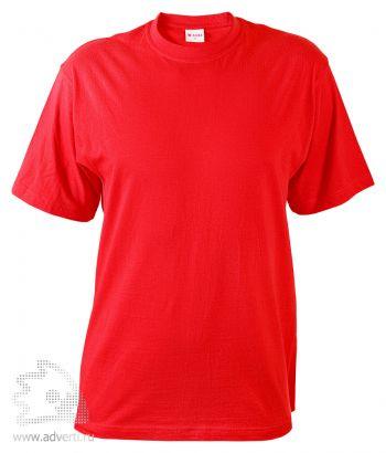Футболка «T-Bolka 140», унисекс, красная