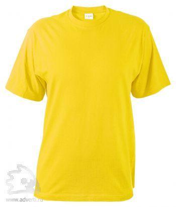 Футболка «T-Bolka 140», унисекс, желтая