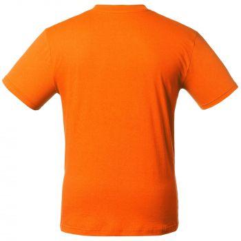 Футболка «T-Bolka 160», унисекс, оранжевая, спина