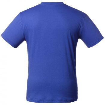 Футболка «T-Bolka 160», унисекс, ярко-синяя, спина