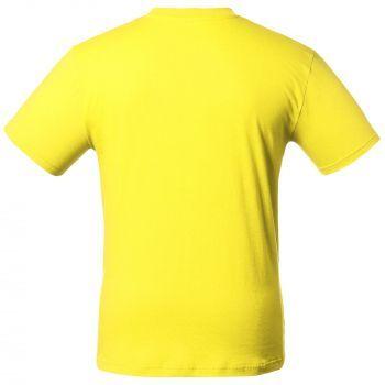 Футболка «T-Bolka 160», унисекс, жёлтая, спина