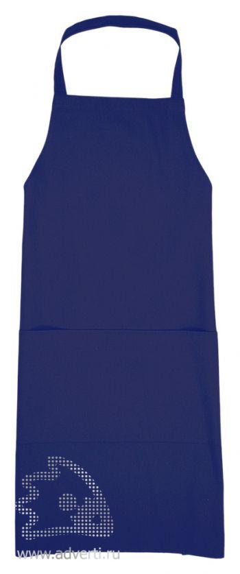 Фартук универсальный, синий