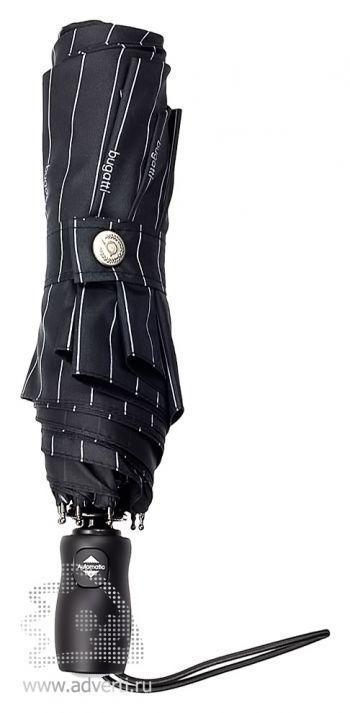 Зонт «Turismo», автомат, 3 сложения, общий дизайн