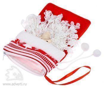Сумочка «Дед Мороз», раскрытая