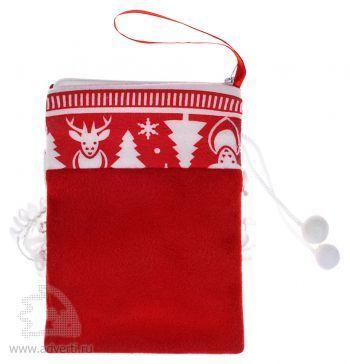 Сумочка «Дед Мороз», оборот