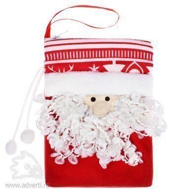 Сумочка «Дед Мороз», красная