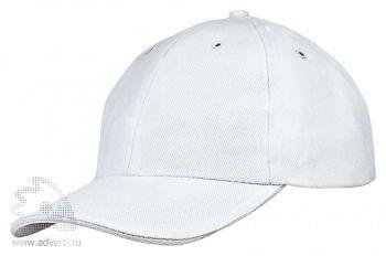 Бейсболка «Unit Generic», белая