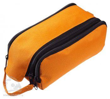 Вместительный несессер «Traveller», оранжевый