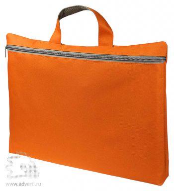 Конференц сумка-папка «Simple», оранжевая