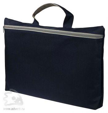 Конференц сумка-папка «Simple», темно-синяя