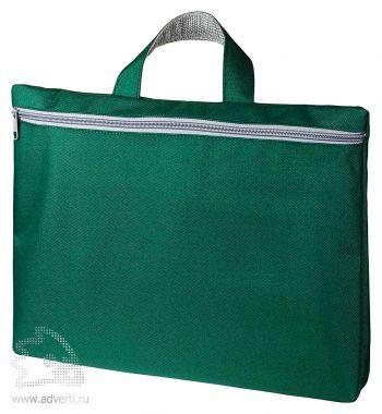 Конференц сумка-папка «Simple». зеленая