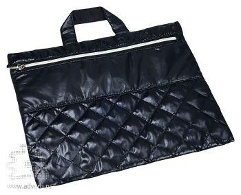 Конференц-сумка «Plump», черная
