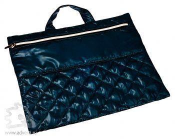 Конференц-сумка «Plump». темно-синяя