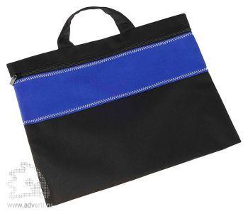 Конференц-сумка «Unit Folder», синяя