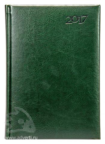 Ежедневники «Sevilia», зеленые, датированные