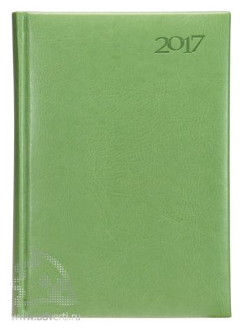 Ежедневники «Sevilia», светло-зеленые, датированные
