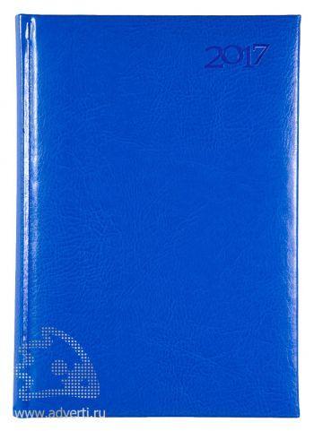 Ежедневники «Sevilia», голубые, датированные