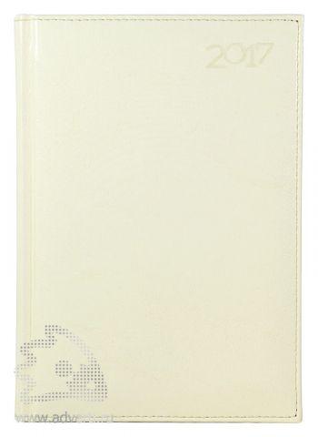 Ежедневники и еженедельники «Rich», белые, на обложке 2017