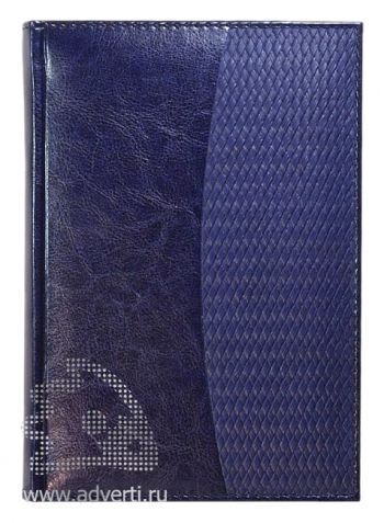 Ежедневники комбинированные «Rich Corda», темно-синие