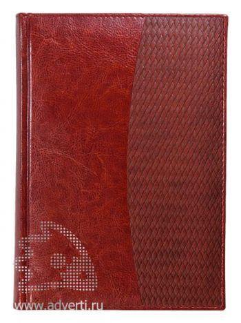 Ежедневники комбинированные «Rich Corda», коричневые