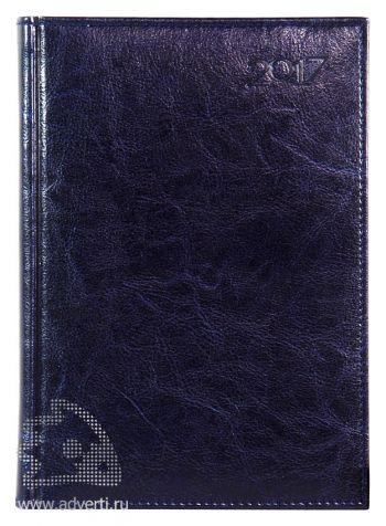 Ежедневники и еженедельники «Rich», темно-синие