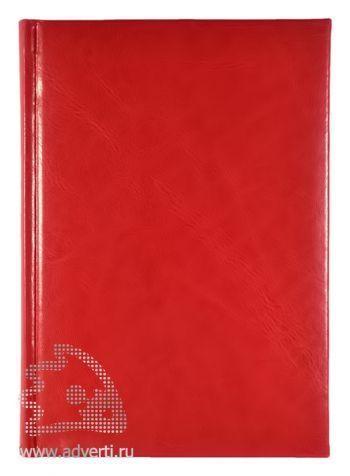 Ежедневники «Nature», красные
