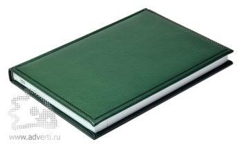 Ежедневники «Bufalino», зеленый, вид сбоку