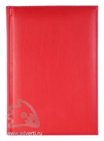 Ежедневники «Nappa», красные